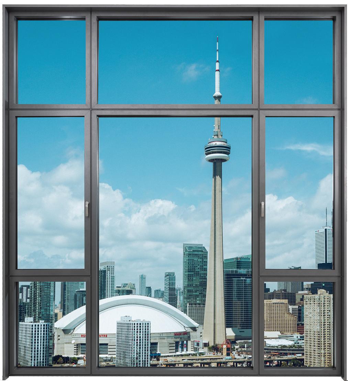 简格系列 75隐扇系统窗