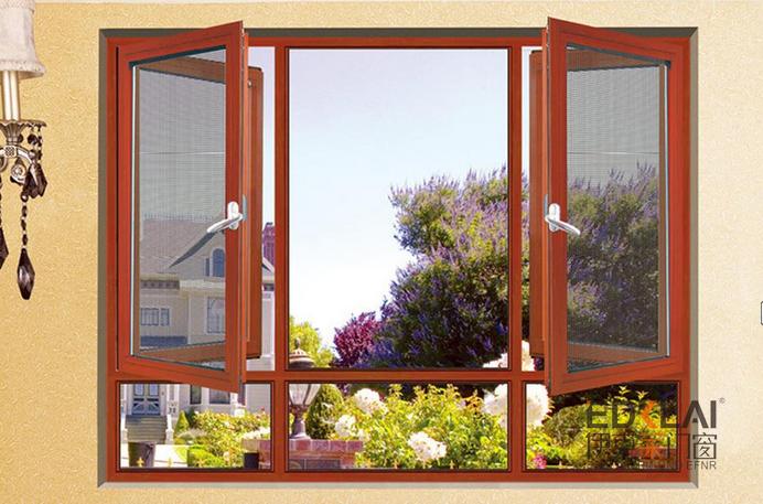 100系列窗沙一体系统窗
