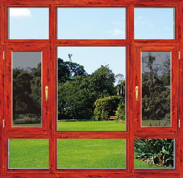 118系列窗纱一体系统窗